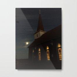 Norse at Night Metal Print