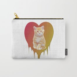 Cat in your heart Carry-All Pouch