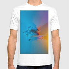 Don't Forget to Smell the Flowers MEDIUM Mens Fitted Tee White