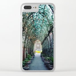 New York 5 Clear iPhone Case