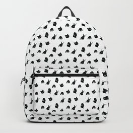 Beloved Pets- cute tiny repeating pattern Backpack