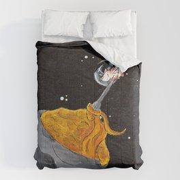 Moon Mac and Cheese Comforters