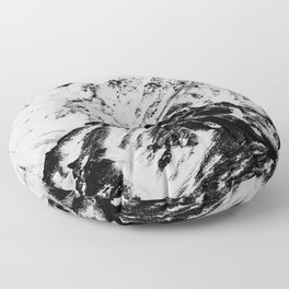 Minimalist Mountains Floor Pillow