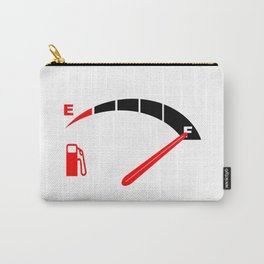 A Full Fuel Tank Carry-All Pouch