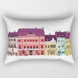 architecture Rectangular Pillow