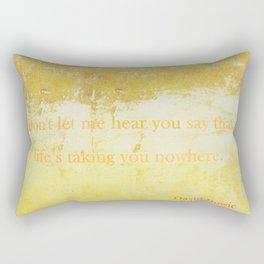 Golden Years Rectangular Pillow