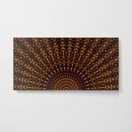 Quasicrystalline Sunrise Metal Print
