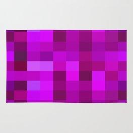 Purple Mosaic Rug