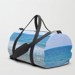 Mediterranean Sea during Daylight Duffle Bag