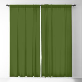 Olive Green Blackout Curtain