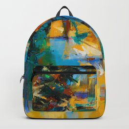 Walk in the city Backpack