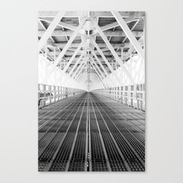 Steel underbelly Canvas Print