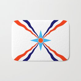 Assyrian people  ethnic flag Bath Mat