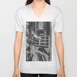 Downtown Riding Unisex V-Neck