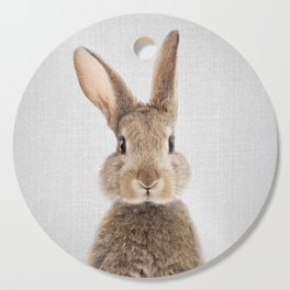 Rabbit - Colorful Cutting Board
