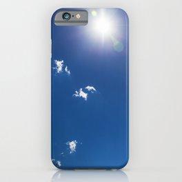 Cumulus Clouds 4 iPhone Case