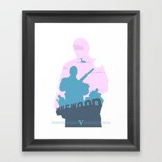 GTA V - MICHAEL DE SANTA Framed Art Print