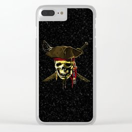The Dark Eyes Of Pirates Clear iPhone Case