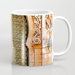 Door Hassan Tower Morocco - For Doors & Travel Lovers Coffee Mug