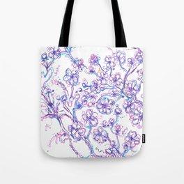 Lavendar flowers Tote Bag