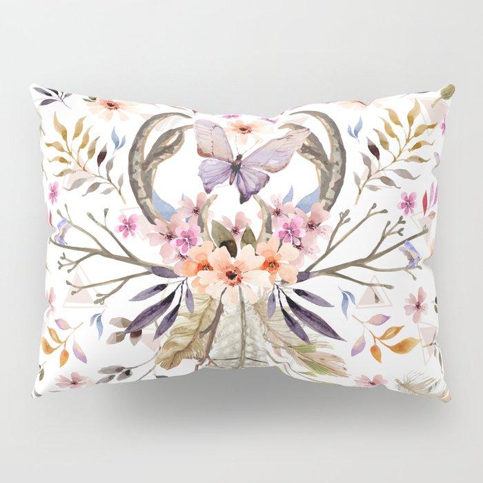 Boho nature circle Pillow Sham