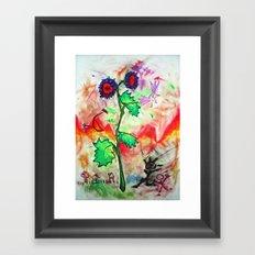 FlowerPower Framed Art Print