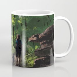 To show us where we've been Coffee Mug