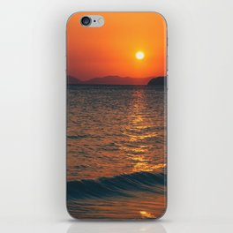 Thailand sunset iPhone Skin