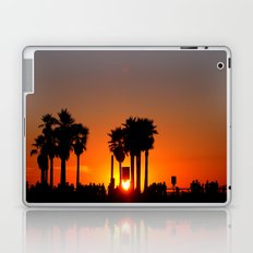 Venice Beach Sunset Laptop & iPad Skin