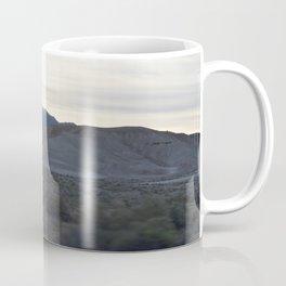 On The Road: Rare Lush Greenery At Sundown In Death Valley Spring Bloom 2016 Coffee Mug