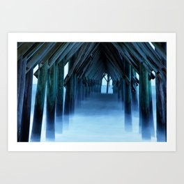 King Neptune's Cthedral II Art Print