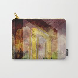 Uruz Rune Digital Art composition Carry-All Pouch