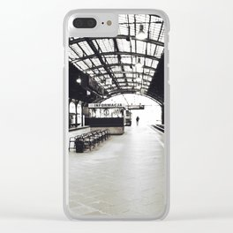 Train Station Clear iPhone Case