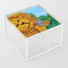 Lion and mouse Acrylic Box