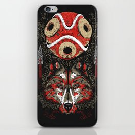 Mononoke Totem iPhone Skin