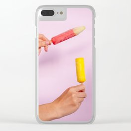ice creams Clear iPhone Case