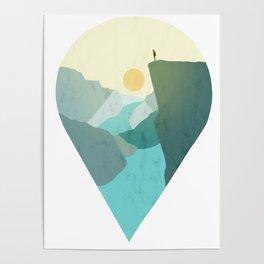 Norway Preikestolen Poster