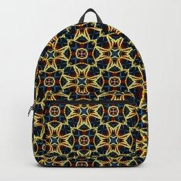 Beautiful Beadwork Inspired Geometric Pattern Backpack
