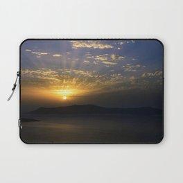 Santorini Sunset Laptop Sleeve