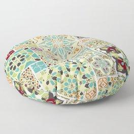 Moroccan Tile Pattern II Floor Pillow