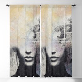 The concept of beauty... Blackout Curtain