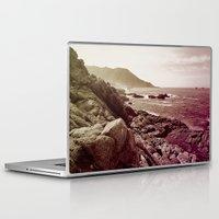 west coast Laptop & iPad Skins featuring california west coast by Li-Bro