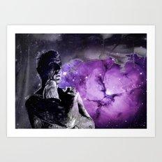 Like tears in rain - tannhauser version Art Print
