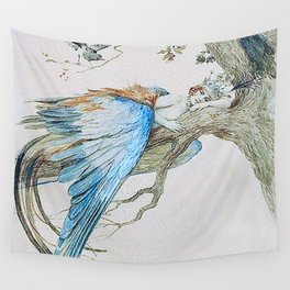 Feather fairy by Sergey Sergeevich 1912 Wall Tapestry
