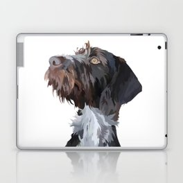 German Wirehaired Pointer Laptop & iPad Skin