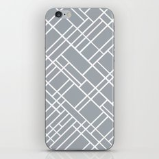 Map Outline Grey 45  iPhone & iPod Skin