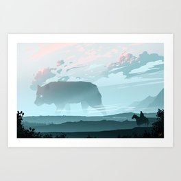 Following The Spirit Art Print