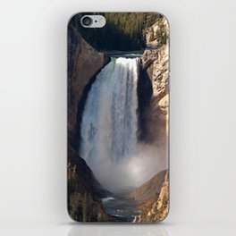 Lower Yellowstone Falls iPhone Skin