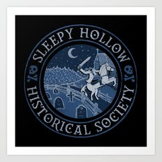 Sleepy Hollow Historical Society Art Print