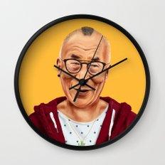 Hipstory -  Dalai Lama Wall Clock